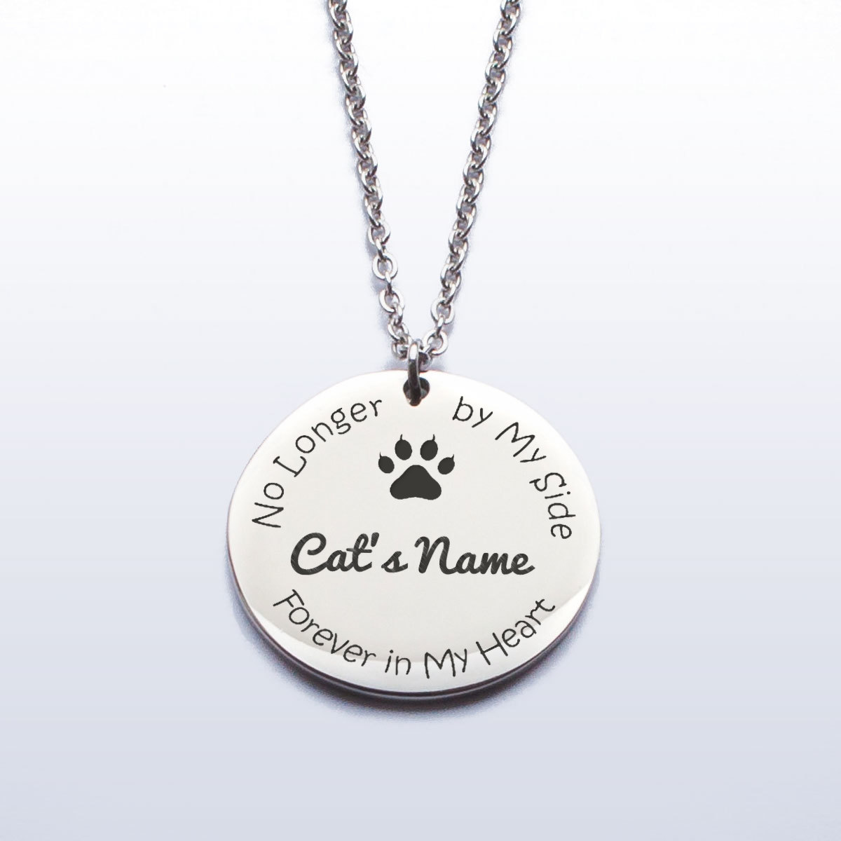 dog gift paw pet pendant lover collar cat product layered mom chokers jewelry memorial print necklace choker silver